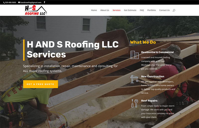 H AND S Roofing LLC